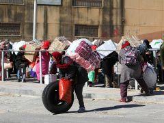 """El uso de un carrito no dignifica el porteo"""