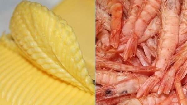 Mantequilla y marisco