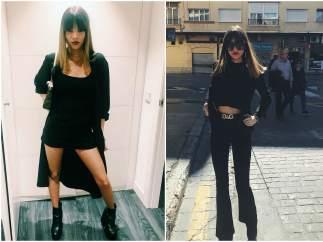 Le encanta vestir de negro