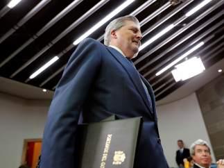 Méndez de Vigo comparece después del Consejo de Ministros de este viernes.