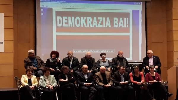 Presentación de Demokrazia Bai