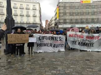 Manifestación de la URJC
