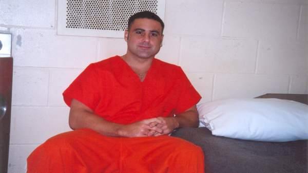Pablo Ibar, en su celda en Florida