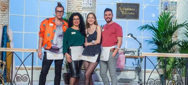 Finalistas de 'Maestros de la Costura'.
