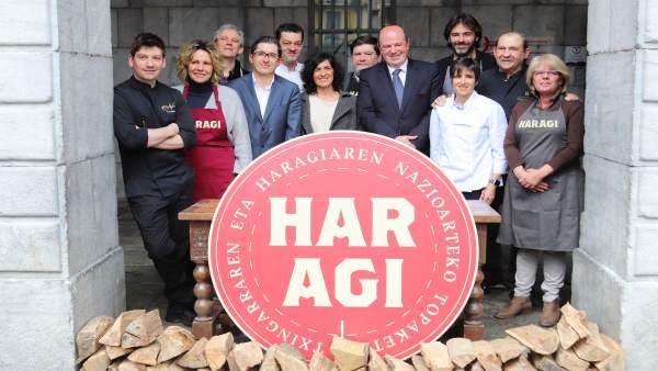 Presentación del evento Haragi en Tolosa