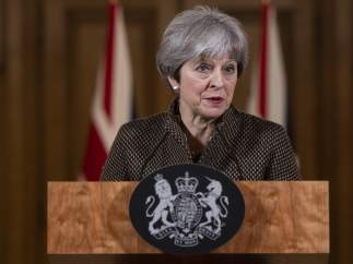 La primera ministra británica Theresa May