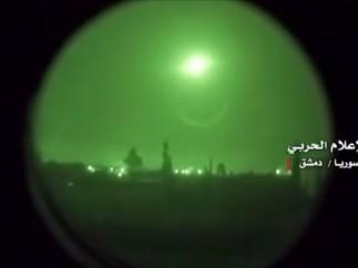 Bombas sobre Damasco