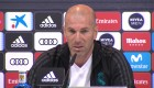 """Zidane: """"Es una vergüenza hablar de robo"""""""