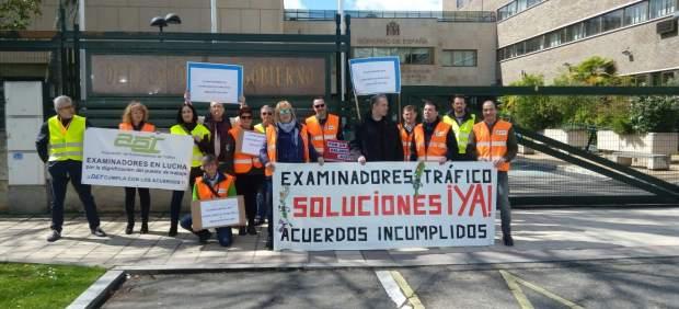Los examinadores de tráfico vuelven a la huelga este lunes para pedir un aumento retributivo