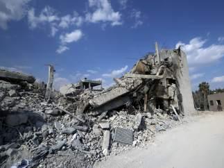 Ataque de EE UU a Siria, en imágenes