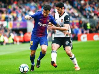 Coutinho, jugador del Barcelona.
