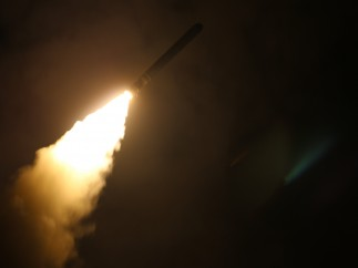 Ataque con misiles a Siria