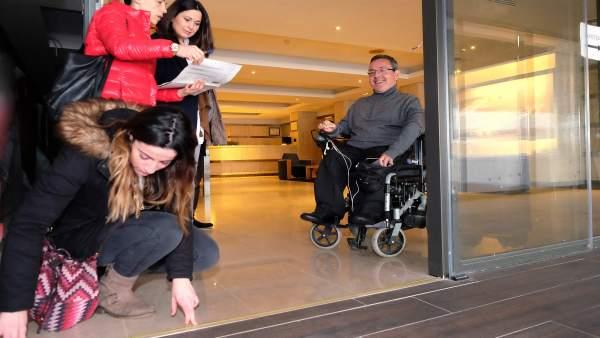 Evaluación de accesibilidad en hoteles (archivo)