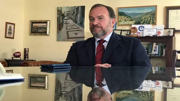 El presidente de la FOE, José Luis García Palacios.