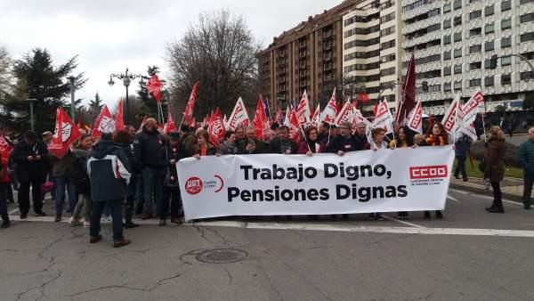 León.- Manifestación en León