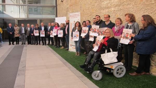 Imagen de la presentación de la campaña de la 'X Solidaria'