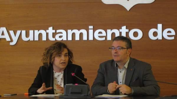 Arraiz Y San Martín, En La Rueda De Prensa