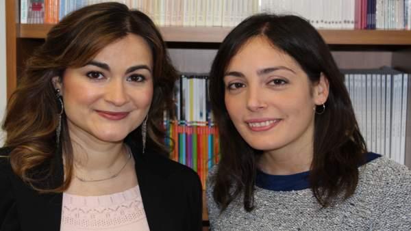 Anabel Fernández-Mesa y Ana García-Granero