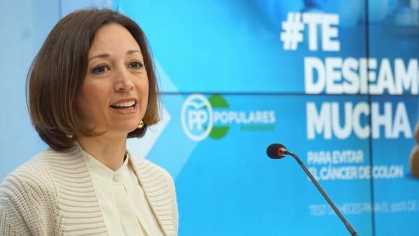 Patricia NAvarro secretaria general del PP de Málaga