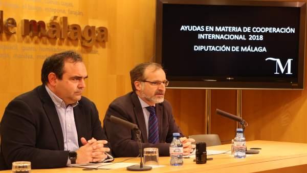 Felix Lozano PP diputado cooperación internacional  y Gonzalo Sichar Cs