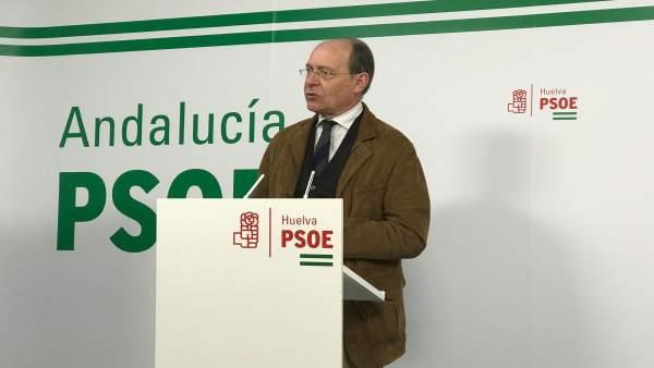 El diputado socialista por la provincia de Huelva, José Juan Díaz Trillo.