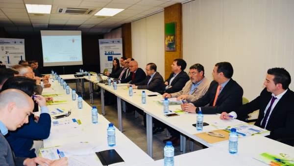 Foto/ Presentación Agenda Industrial