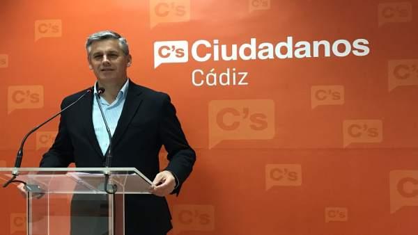 Javier Cano, diputado de Ciudadanos por Cádiz