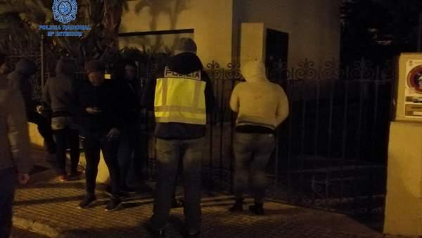 Detención mujer robo en Playa de Palma