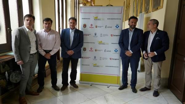 Presentación de jornadas de innovación en Málaga