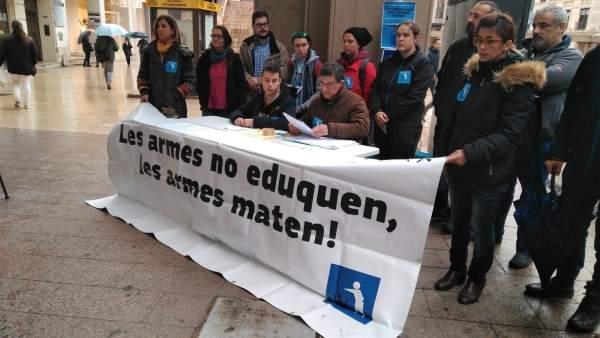 Plataforma Desmilitaritzem l'Educació en Lleida