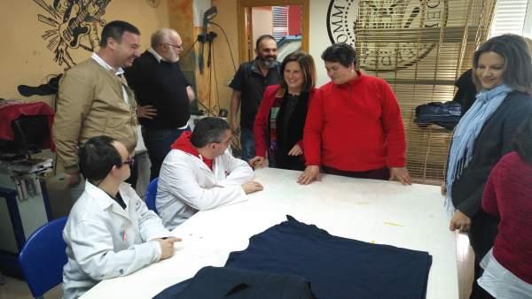 Visita a las instalaciones de Anpier Linares.