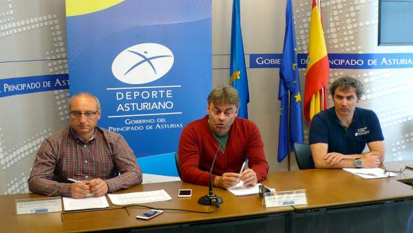Jorge Fernández, José Ramón Tuero y Javier Martínez