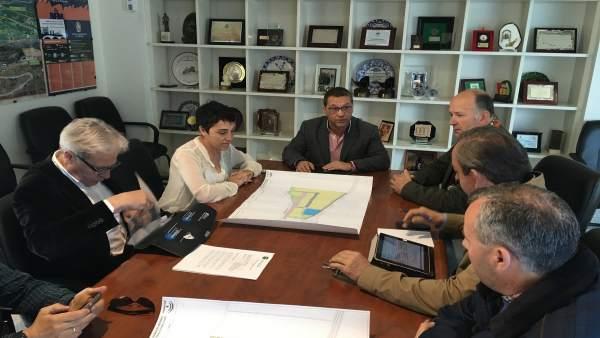 Reunión sobre el Área Logística de Andújar