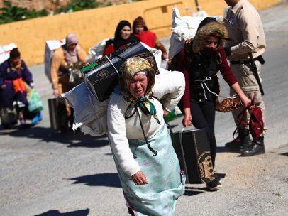 Las porteadoras en la frontera de Ceuta