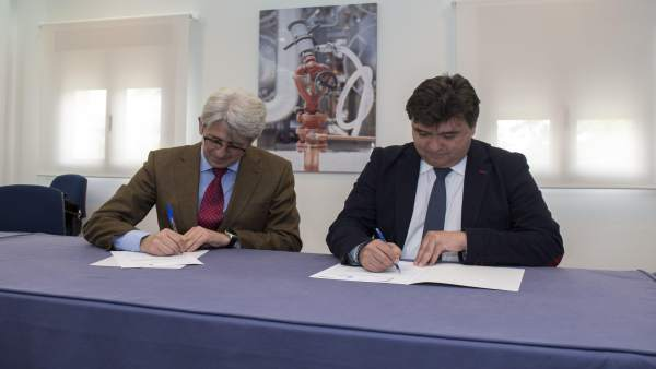 Acuerdo entre la Fundación Cepsa y el Ayuntamiento de Huelva.