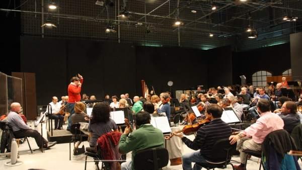 Orquesta Sinfónica. Imagen de archivo.