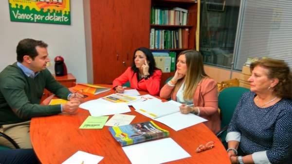Reunión de COAG Jaén con Ciudadanos
