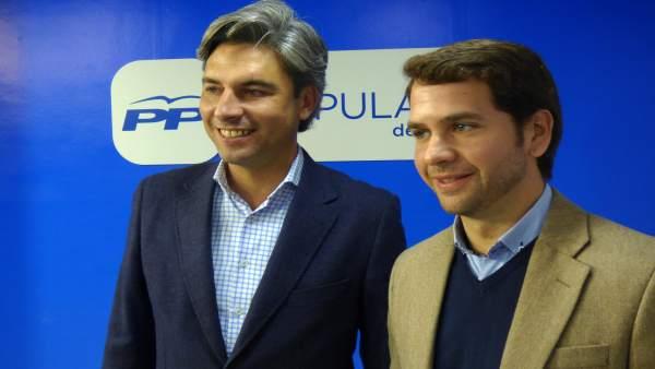 Andrés Lorite y Fernando Priego