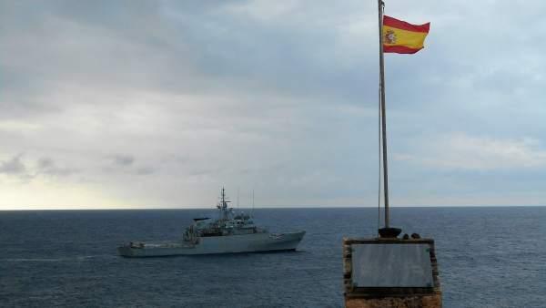 Patrullero 'Atalaya' de la Armada Española