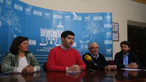 Acuerdo entre el Ayuntamiento de Valverde del Camino y Proyecto Hombre.