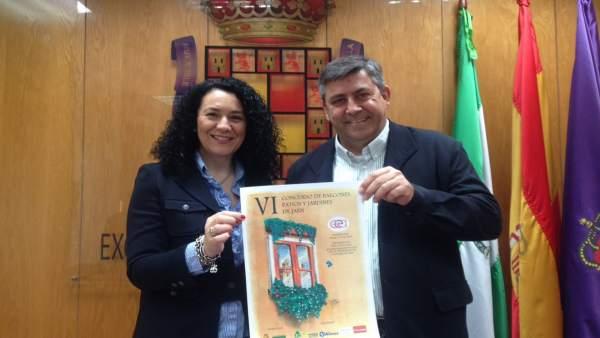 Presentación del VI Concurso de Balcones, Patios y Jardines Ciudad de Jaén.