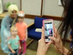 Fotos de menores en las redes sociales