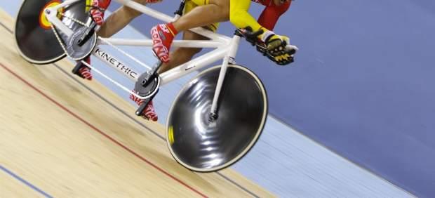 Equipo español de ciclismo en pista