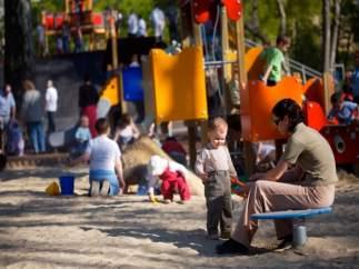 Imagen de archivo de un parque infantil