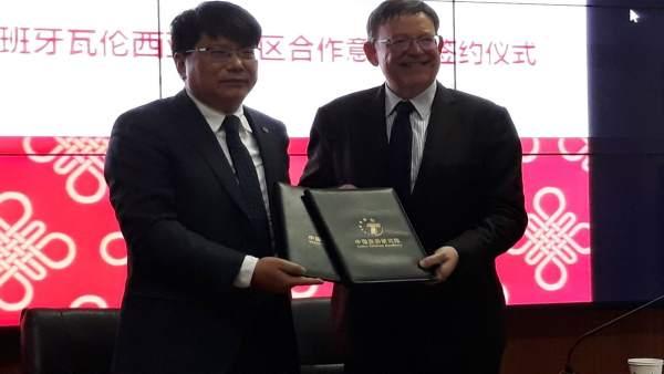 El Consell firma un acord per a augmentar el turisme xinés