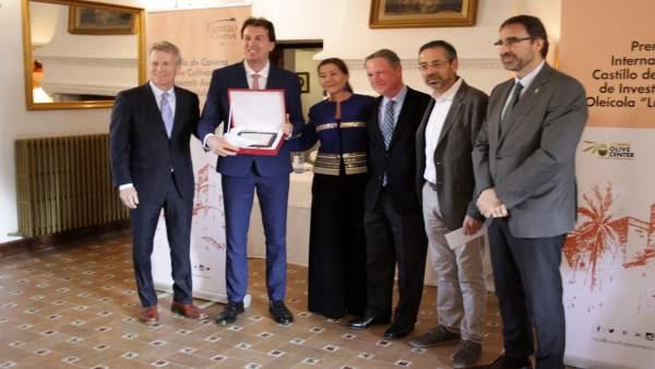 Entrega del IV Premio Internacional de Investigación Oleícola Luis Vañó.