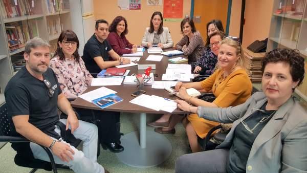 Foto/ Reunión Del Grupo De Trabajo De Educación Y Viol Encia De Género