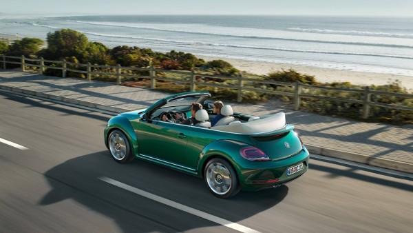 Volkswagen Beetle con motor central