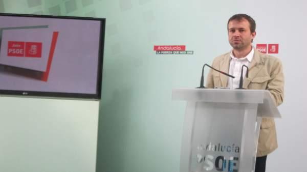 El secretario general del PSOE en Jaén capital, Julio Millán