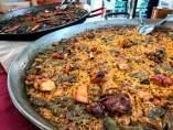 Paella en el Mercat Colón de València